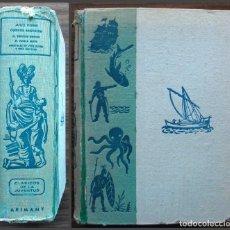 Libros de segunda mano: EL PUEBLO AEREO: AVENTURAS DE TRES RUSOS Y TRES INGLESES EN EL AFRICA AUSTRAL. JULIO VERNE. Lote 129430143