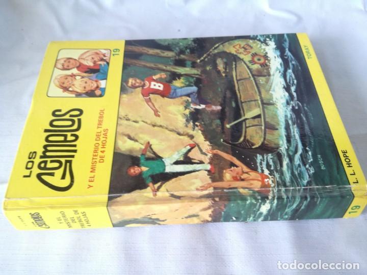 LOS GEMELOS / Y EL MISTERIO DEL TREBOL DE 4 HOJAS / TORAY / K401 (Libros de Segunda Mano - Literatura Infantil y Juvenil - Novela)