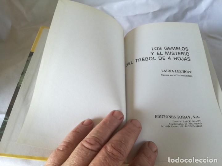 Libros de segunda mano: los gemelos / y el misterio del trebol de 4 hojas / toray / k401 - Foto 3 - 194873248