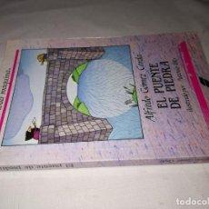 Libros de segunda mano: EL PUENTE DE PIEDRA/ALFREDO GOMEZ CERDA/SUSAETA/CJ142. Lote 130931444