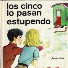 Libros de segunda mano: LOS CINCO LO PASAN ESTUPENDO - ENID BLYTON - Nº 32 - EDITORIAL JUVENTUD, 12ª EDICIÓN, 1986.. Lote 131139812