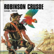 Libros de segunda mano: ROBINSON CRUSOE - DANIEL DEFOE - COLECCIÓN SAETA Nº 9 - SUSAETA EDICIONES, S.A. - 1985.. Lote 131142008