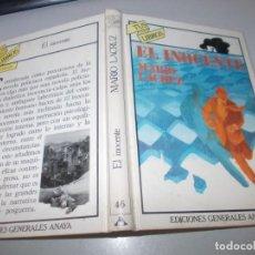 Libros de segunda mano: TUS LIBROS POLICIACOS Nº 46 EL INOCENTE, MARIO LACRUZ. ANAYA 1ª ED. OCTUBRE 1.984. Lote 131195632