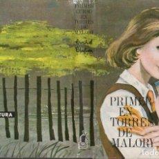 Libros de segunda mano: ENID BLYTON : PRIMER CURSO EN TORRES DE MALORY (MOLINO AVENTURA,1964) ILUSTRACIONES DE PABLO RAMÍREZ. Lote 131686681