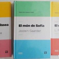 Libros de segunda mano: CLÀSSICS DE LA LITERATURA JUVENIL (LOT EDICIONS 62, TAPA DURA) VEURE DESCRIPCIÓ. Lote 131873782