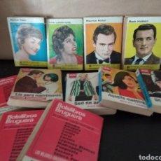 Libros de segunda mano: MINI LIBROS BRUGUERA SERIE ROSA. Lote 131904233