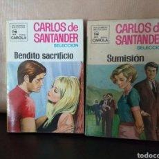 Libros de segunda mano: CARLOS DE SANTANDER BOLSILIBROS BRUGUERA SERIE CAROLA. Lote 131908003