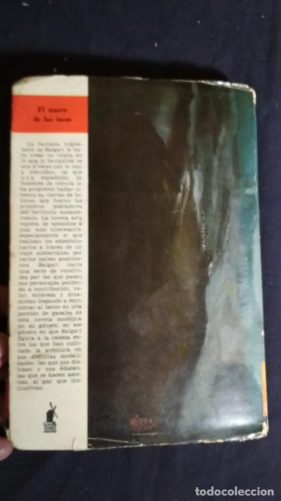 Libros de segunda mano: EL TESORO DE LOS INCAS DE EMILIO SALGARI - ED. MOLINO VER FOTOS - Foto 3 - 132251694