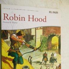 Libros de segunda mano: ROBIN HOOD - NORMAN R. STINNET JOYAS LITERARIAS JUVENILES EL PAÍS. Lote 132488794