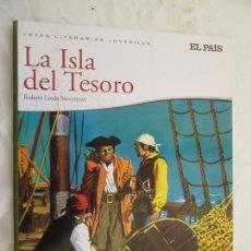 Libros de segunda mano: LA ISLA DEL TESORO - ROBET LUOIS STEVENSON JOYAS LITERARIAS JUVENILES EL PAÍS. Lote 132488950