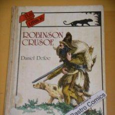 Libros de segunda mano: ROBINSON CRUSOE, TUS LIBROS ANAYA, 1984, ERCOM (B) B2. Lote 132516034