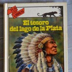 Libros de segunda mano: EL TESORO DEL LAGO DE LA PLATA. KARL MAY. COLECCIÓN TUS LIBROS. ANAYA, PRIMERA EDICIÓN 1991. Lote 132872802
