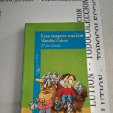 Libros de segunda mano - Los trapos sucios Manolito gafotas Elvira Lindo - 133100575