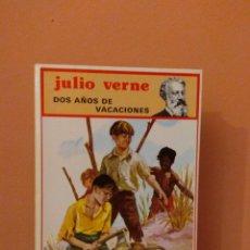 Libros de segunda mano: DOS AÑOS DE VACACIONES - JULIO VERNE - EDITORIAL MOLINO - 1983. Lote 133436998