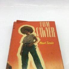 Libros de segunda mano: LAS AVENTURAS DE TOM SAWYER, POR MARK TWAIN, COLECCION ROBINSONES Nº 36 - 1957. Lote 133476966