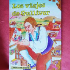Libros de segunda mano: LOS VIAJES DE GULLIVER - JONATHAN SWIFT - EDICIONES GAVIOTA S.A. - 1984 - VERSIÓN INTEGRA. Lote 133577646