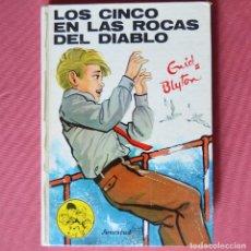 Libros de segunda mano: LOS CINCO EN LAS ROCAS DEL DIABLO - ENID BLYTON - EDITORIAL JUVENTUD - 1974. Lote 133592094