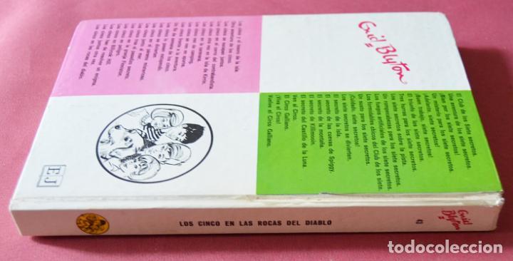 Libros de segunda mano: LOS CINCO EN LAS ROCAS DEL DIABLO - ENID BLYTON - EDITORIAL JUVENTUD - 1974 - Foto 2 - 133592094