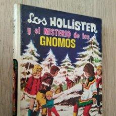 Libros de segunda mano: LOS HOLLISTER Y EL MISTERIO DE LOS GNOMOS DE JERRY WEST DEL AÑO 1971 EDICIONES TORAY. Lote 133824170