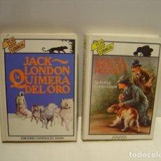 Libros de segunda mano: EL REGRESO DE SHERLOCK HOLMES - LA QUIMERA DEL ORO - TUS LIBROS ANAYA . Lote 134791730