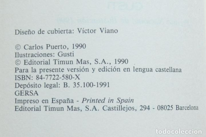 Libros de segunda mano: LA MALDICIÓN DE LA MOMIA - EL VAMPIRO KASIMIR - CARLOS PUERTO - TIMUN MAS -1990 - Foto 3 - 134996798
