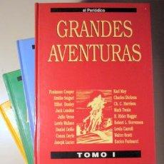 Libros de segunda mano: GRANDES AVENTURAS (4 VOLS. - COMPLETO) - BARCELONA 1990 - 95 COMICS ILUSTRADOS. Lote 136005060