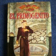 Libros de segunda mano: DRAGONLANCE.LAS NACIONES ELFICAS.EL PRIMOGENITO. Lote 136304398