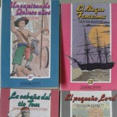 Libros de segunda mano: LOTE DE 4 LIBROS DE LA COLECCION JUVENIL PPP. Lote 137417829