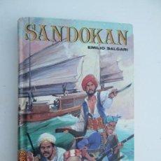 Libros de segunda mano: SANDOKAN - EMILIO SALGARI . Lote 137516474
