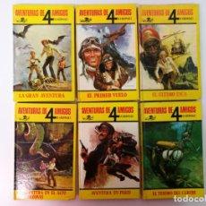 Libros de segunda mano: AVENTURAS DE 4 AMIGOS, EDT. HISMA 6 EJEMPLARES. Lote 138680234