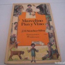 Libros de segunda mano: MARCELINO PAN Y VINO EDICIONES GENERALES ANAYA. Lote 139648562