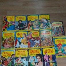 Libros de segunda mano: 14 LIBROS , NOVELAS ~ COLECCION HISTORIAS ~ ILUSTRADA , BRUGUERA , AÑOS 60 # LEER ANUNCIO. Lote 139796744