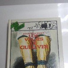 Libros de segunda mano: LOS VIAJES DE GULLIVER. JONATHAN SWIFT. ANAYA. Lote 141324322