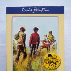 Libros de segunda mano: ENID BLYTON. LOS CINCO VAN DE CAMPING. RBA. Lote 141814230
