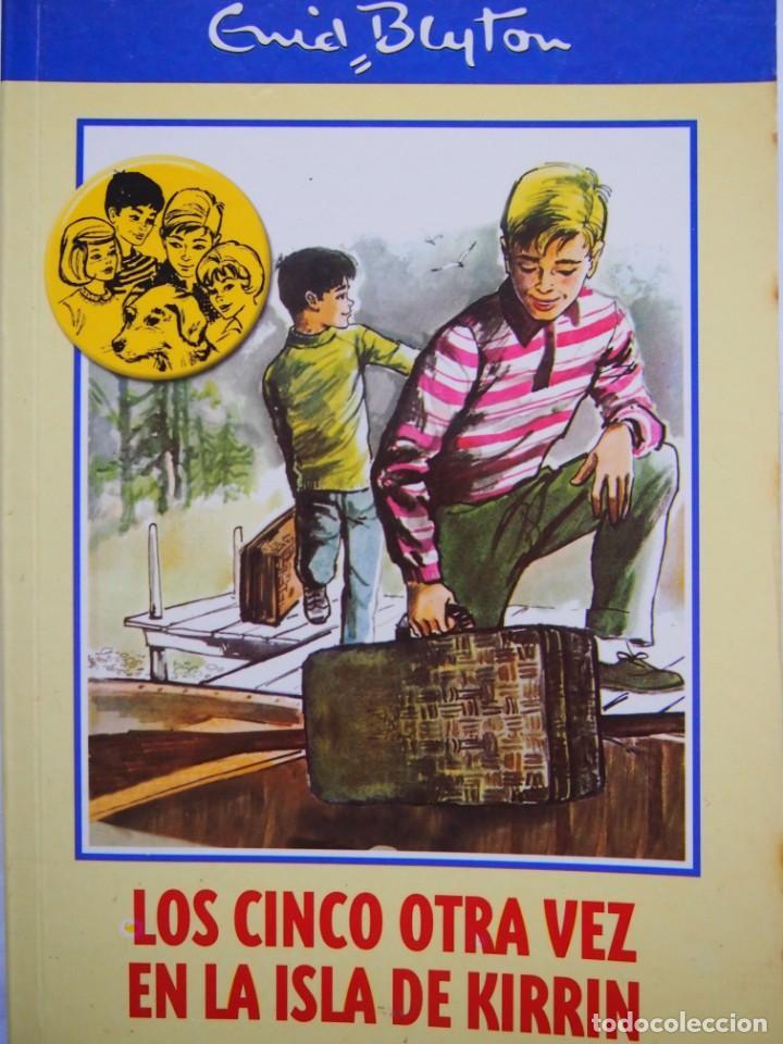 ENID BLYTON. LOS CINCO OTRA VEZ EN LA ISLA DE KIRRIN. RBA (Libros de Segunda Mano - Literatura Infantil y Juvenil - Novela)