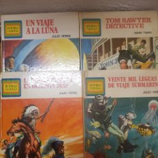 Libros de segunda mano: FAMOSAS HISTORIAS LOTE DE CUATRO . BRUGUERA. Lote 142271269