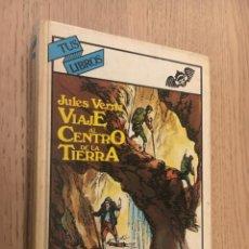 Libros de segunda mano: TUS LIBROS. Nº 11. VIAJE AL CENTRO DE LA TIERRA. JULES VERNE. ANAYA 1982. Lote 142500354