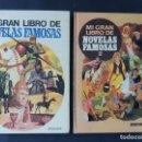 Libros de segunda mano: MI GRAN LIBRO DE NOVELAS FAMOSAS / 2 VOLUMENES ( COMPLETO ) ED. BRUGUERA 1975 / SIN USAR. Lote 142814286