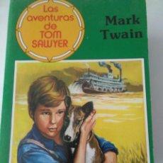 Libros de segunda mano: LAS AVENTURAS DE TOM SAWYER . MARK TWAIN ( ED. GAVIOTA ). Lote 143084854