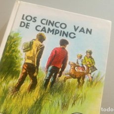Libros de segunda mano: LOS CINCO VAN DE CAMPING - ENID BLYTON - 1986. Lote 143105826
