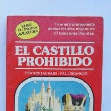 Libros de segunda mano: EL CASTILLO PROHIBIDO ELIGE TU PROPIA AVENTURA. Lote 143105914