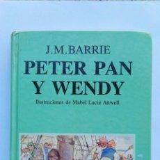 Libros de segunda mano: PETER PAN Y WENDY EDITORIAL JUVENTUD. Lote 143109089