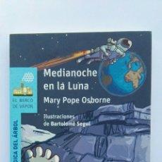 Libros de segunda mano: MEDIANOCHE EN LA LUNA BARCO DE VAPOR. Lote 143109266
