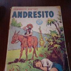 Libros de segunda mano: ANDRESITO. HUMBERTO KIRSCHT. Lote 143124788