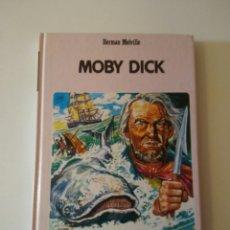 Libros de segunda mano: MOBY DICK CLÁSICOS JUVENILES N.35 HERMAN MELVILLE AÑO1986. Lote 143169674