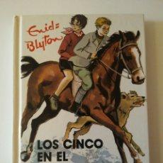 Libros de segunda mano: LOS CINCO EN EL PARAMO MISTERIOSO AÑO1993JUVENTUD ENID BLYTOM. Lote 143171161