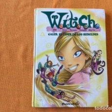 Libros de segunda mano: WITCH.TOMO 3.CALEB EL LÍDER DE LOS REBELDES.. Lote 143188010