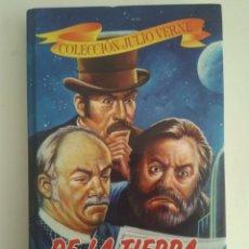 Libros de segunda mano: DE LA TIERRA A LA LUNA/JULIO VERNE. Lote 143191816