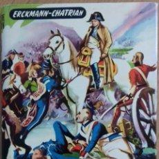 Libros de segunda mano: LIBRO JUVENIL 'CON LOS SOLDADOS DE NAPOLEÓN'. Lote 143196126