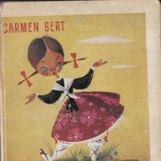 Libros de segunda mano: LA TOMASICA Y EL MAGO - CARMEN SERT - GILSA S.A. EDICIONES 1ª EDICION DICIEMBRE 1952. Lote 143788706